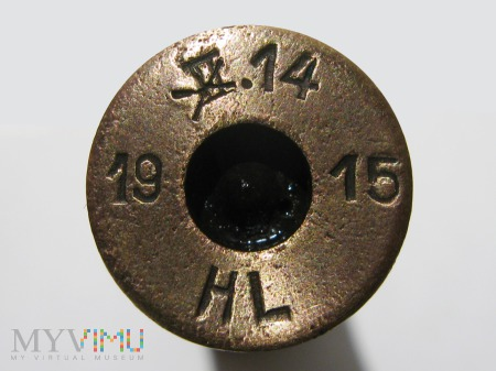 Łuska 8x58 Krag-Jorgensen M.89 [II. 14 19 15 HL*]