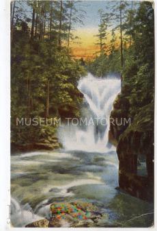 Karkonosze - Wodospad Szklarki Kochelfall - 1921