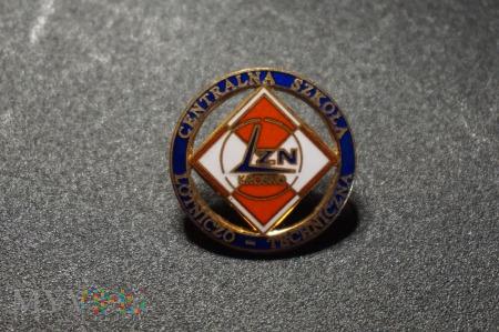 Duże zdjęcie Odznaka Centralnej Szkoły Lotniczo-Technicznej