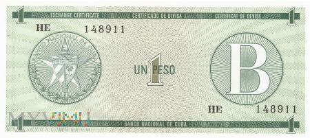 Duże zdjęcie Kuba - 1 peso (1985)