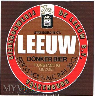 Duże zdjęcie leeuw donker bier