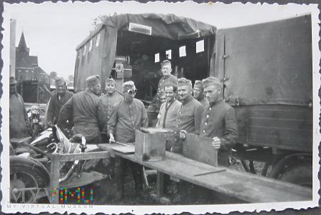 Żołnierze wehrmachtu