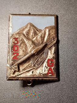 Pamiątkowa odznaka 302 Grupy Artylerii _ Francja