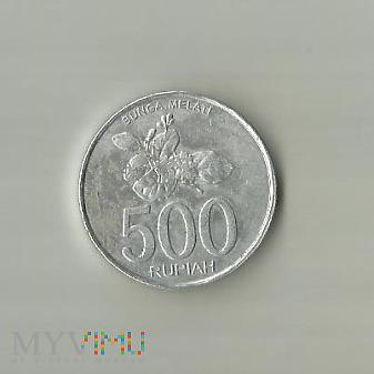 Indonezja 500 rupii, 2003