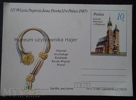 Duże zdjęcie 1987.V - III Wizyta Papieża Jana Pawła II w Polsce