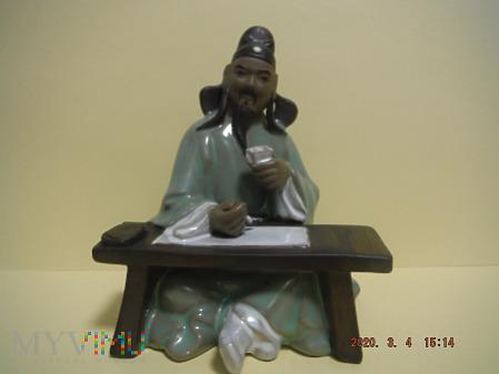 Chińczyk piszący.