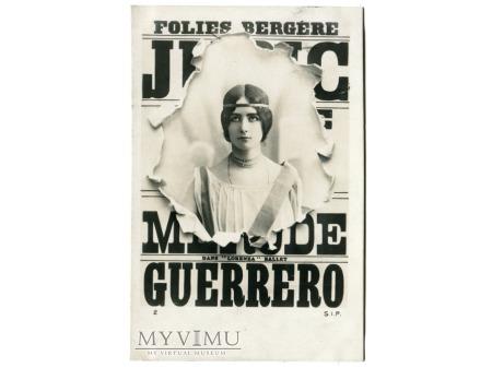 1902 Cléo de Mérode Folies Bergère ballet LORENZA