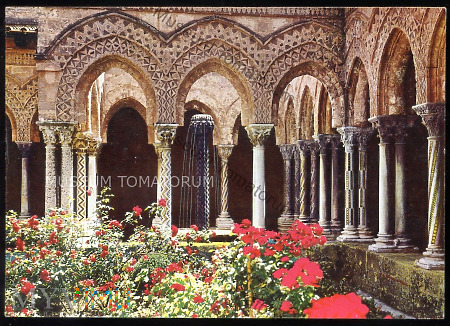 Monreale - klasztor - 1966