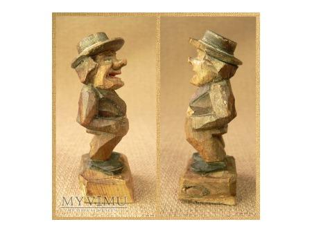 Mężczyzna w czarnym kapeluszu - ANRI