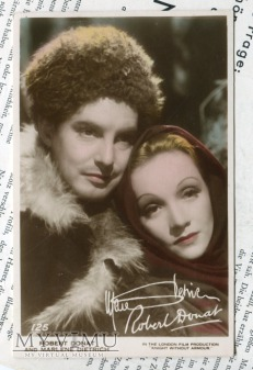 Marlene Dietrich Art Photo Postcard nr 125