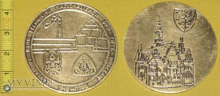 Medal kolejowy - firmowy ZNTK Wrocław
