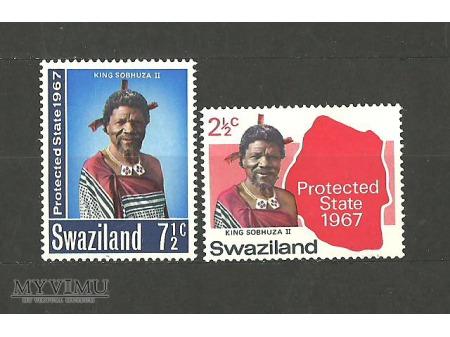 Król Sobhuza II.