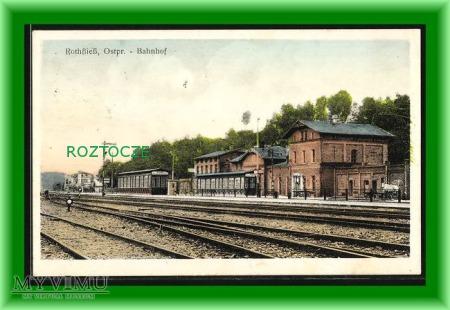 CZERWONKA Rothfliess Dworzec kolejowy
