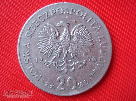 20 złotych 1976 rok