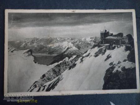Munchner Haus auf der Zugspitze