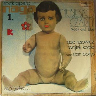 Duże zdjęcie Naga - pierwsza polska rock-opera - 1972 rok.