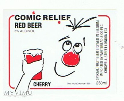 comic relief red beer