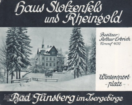 Bad Flinsberg - Haus Stolzenfels und Rheingold