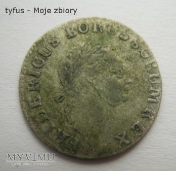 3 KRAJCARY - PRUSY (1785)