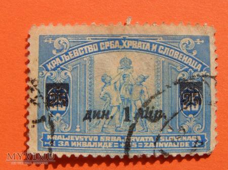 017. Królestwo Serbii, Chorwacjii i Słowenii