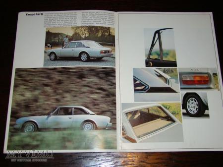 Prospekt Peugeot 504 Coupe/Cabrio