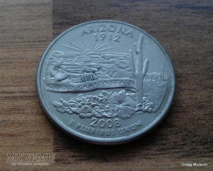 Quarter Dollar - Arizona 2008