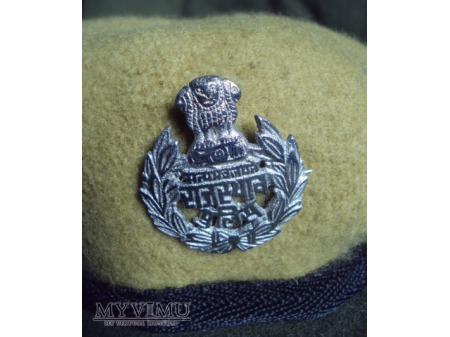 Indyjski beret policyjny