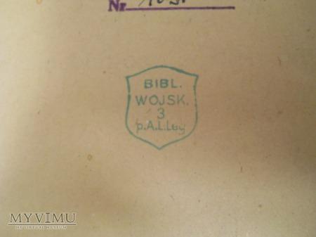 Książka z Biblioteki Podoficerskiej 3 PAL/3 PAP