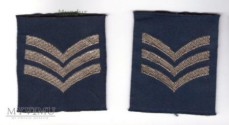 Wieka Brytania-oznaka stopnia: sierżant RAF