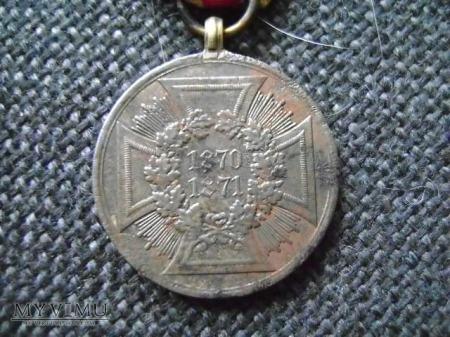 medal pruski stalowy