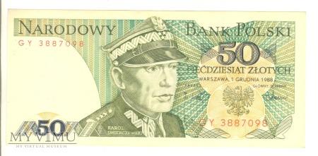 50 złotych PRL 1988
