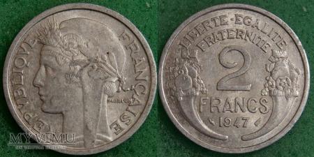 Duże zdjęcie Francja, 2 FRANCS 1947