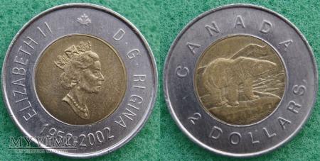 Duże zdjęcie Kanada, 2 Dollars 2002