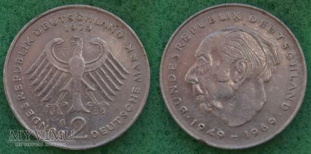 Niemcy, 1979, 2 DEUTSCHE MARK