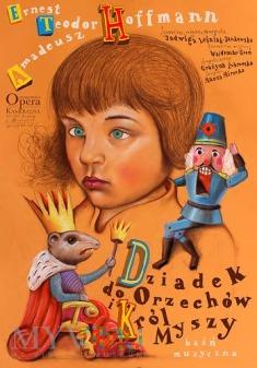 Plakat - Dziadek do orzechów.
