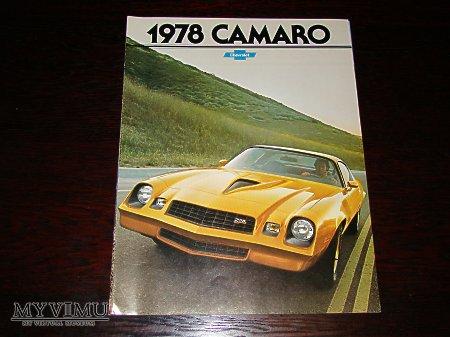 Prospekt CHEVROLET CAMARO 1978