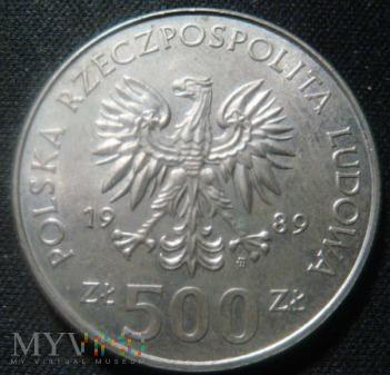 500 zł 1989,50 rocznica wojny obronnej