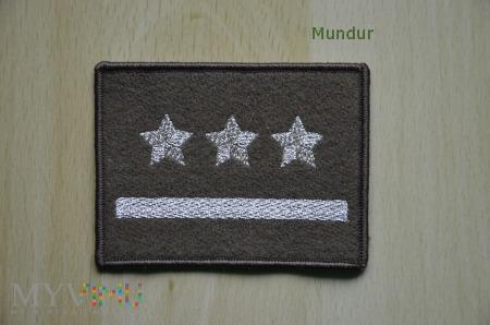 Oznaka stopnia - porucznik SG