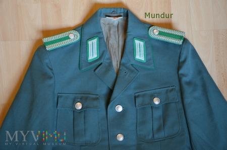 Mundur Bereitschaftspolizei DDR - Oberwachtmeister