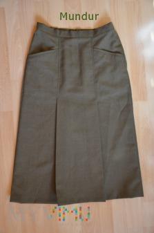 OS SR: spódnica wojskowa