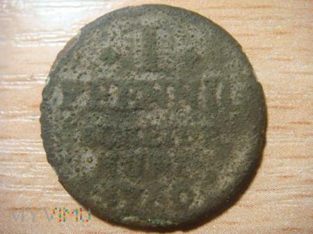 1 Pfennig Diecezja erfurcka ,1769