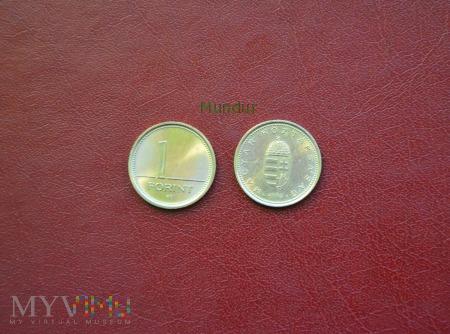 Moneta węgierska: 1 forint