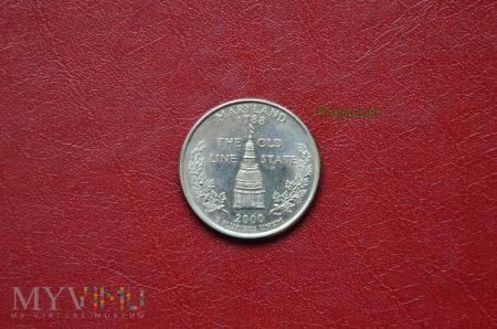 Moneta USA: quarter dollar 2000