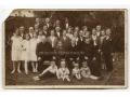 Grupowe zdjęcie rodzinne - rocznica, lata 30-te
