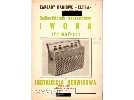 Instrukcja serwisowa radia IWONA