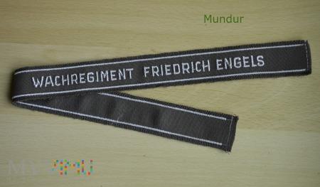 Opaska na rękaw - Wachregiment Friedrich Engels