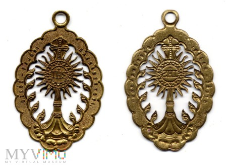 Medalion - Cześć Najświętszemu Sakramentowi