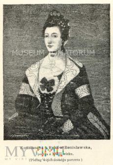 Benisławska Konstancja - poetka