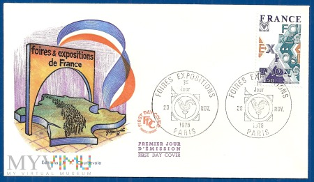 Fdc-Francja.1976.1a