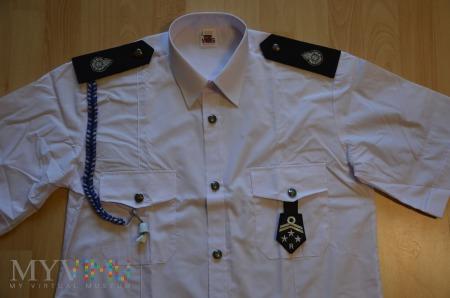 Ubiór letni OSP - biała koszula